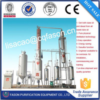 Reasonable price automatic operation lube oil refinery