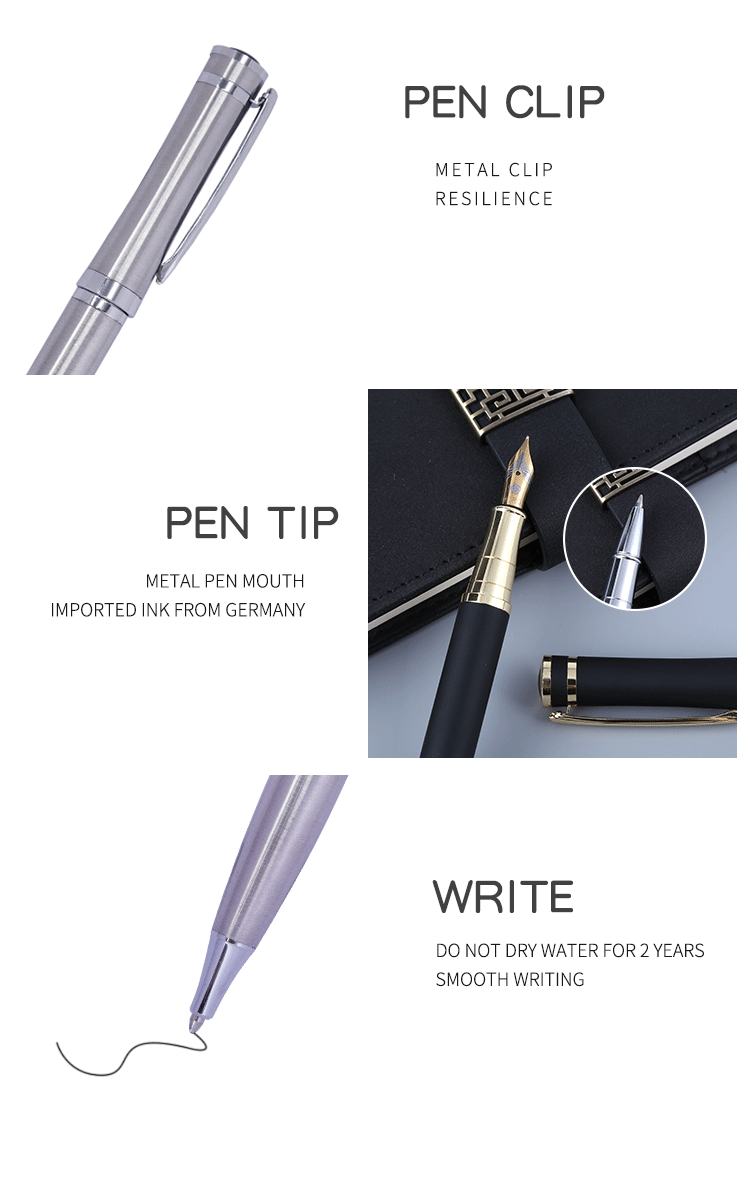 2018 Gentleman Red Metal Ball Pen Luxury Business Gift Ballpoint Pen With logo