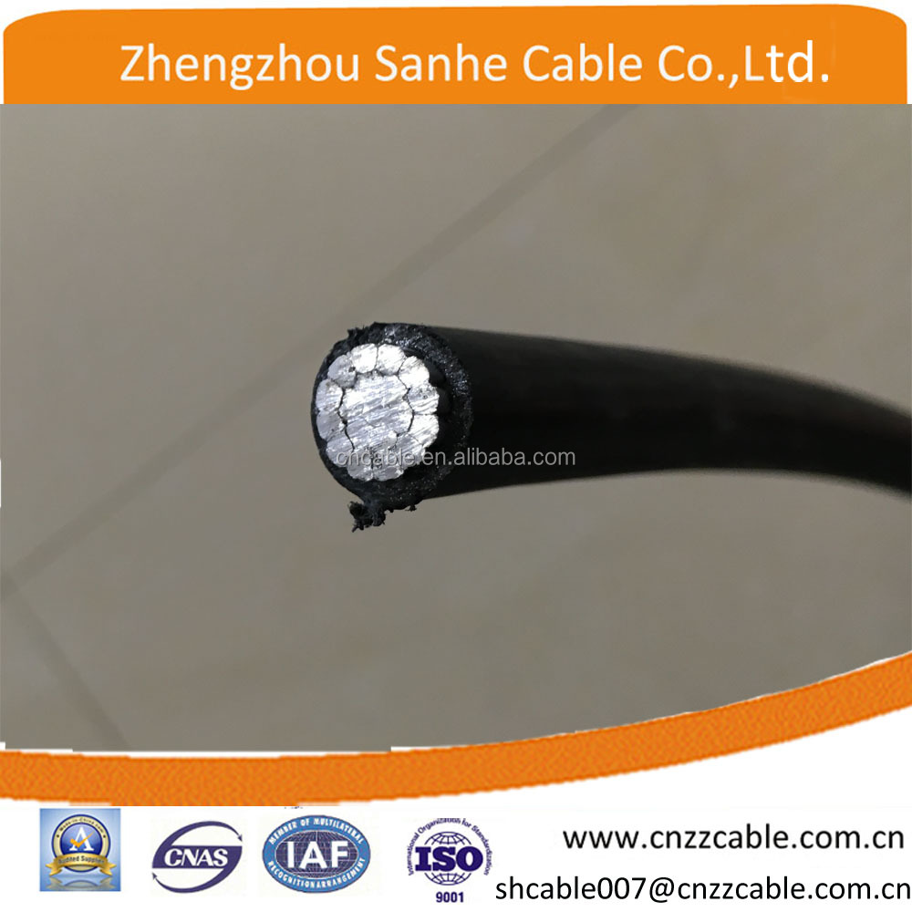 Covered Line Wire AAC Aluminum Conductor XLPE insulated cable