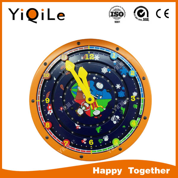2016 YIQILE new design montessori wooden educational toy of puzzle game