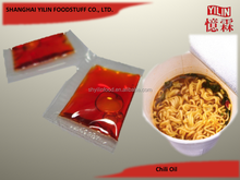 3g sachet OEM ODM Chili Oil for instant noodle from China