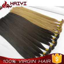 2017 Wholesale Own Brand Distributorships Available Factory Supply stick tip hair extention