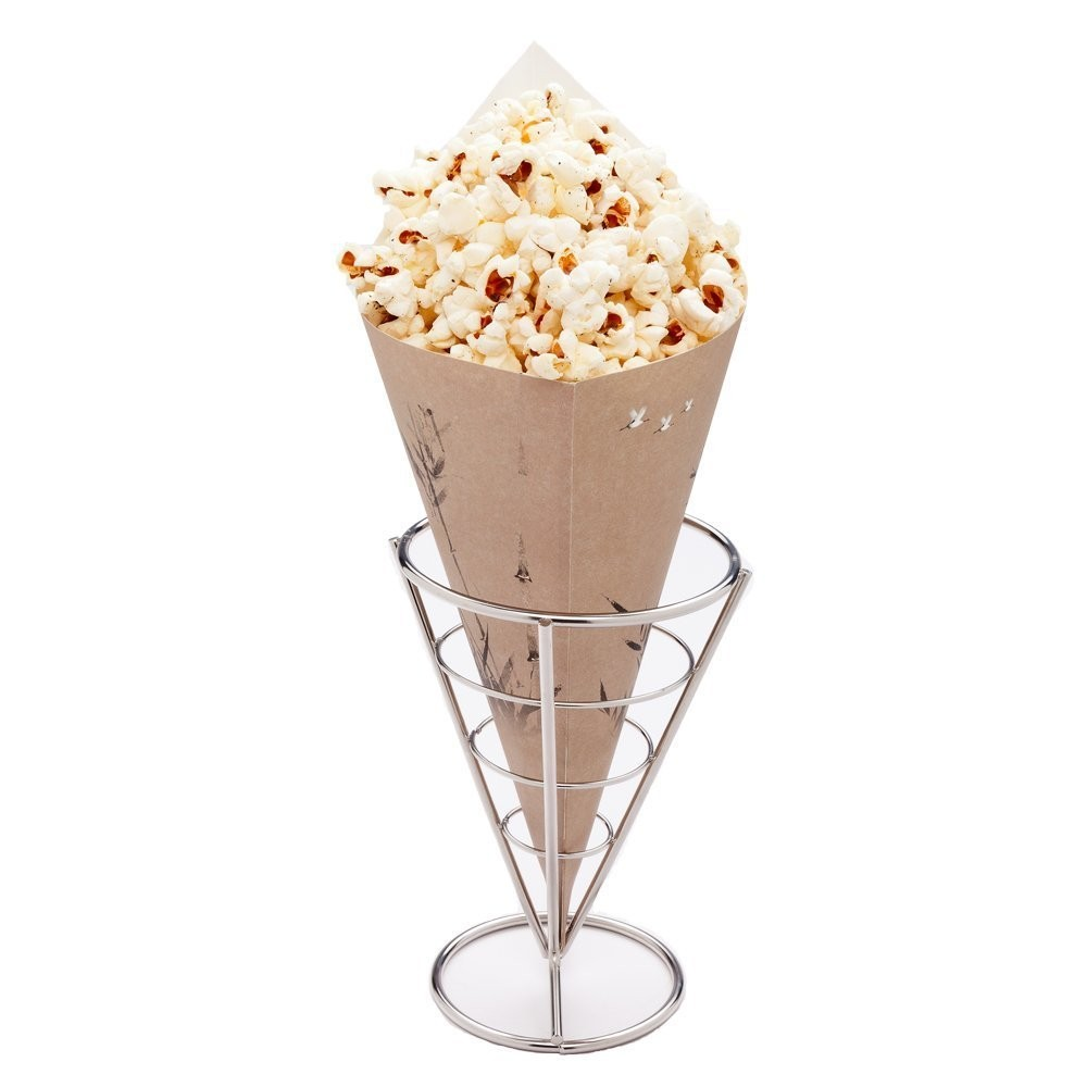 Food inudstry use fashion design paper cone for snack food