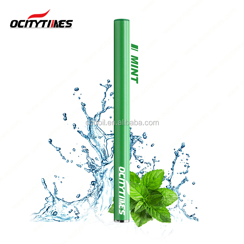 Ocitytimes 1.3ml disposable atomizer no oil leak 500 puffs disposable vape pen slim colorful electronic cigarette