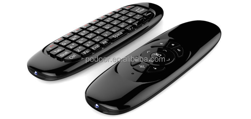 wireless keyboard and mouse for Android TV Box google chromecast smart tv universal remoter control PC101