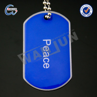 Custom cheap colorful dog tags for kids wholesale