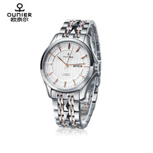 316L stainless steel sapphire crystal automatic watch stainless steel band watch 2017 hot items
