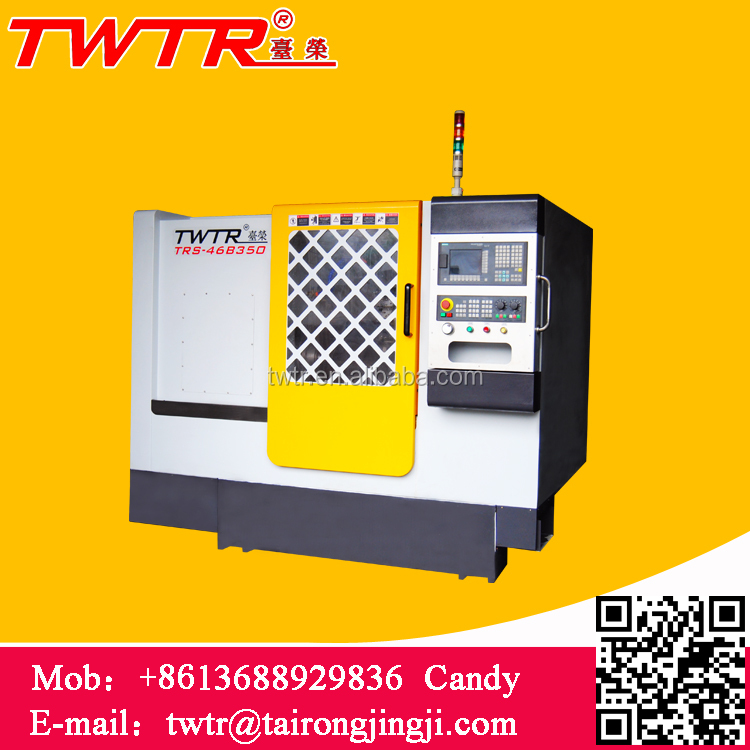 TRS-46B500 Automatic Hydraulic Turret And Tailstock CNC Lathe Machinery Price