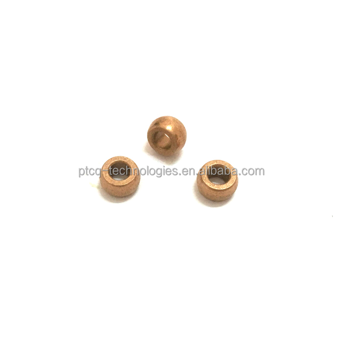 Shenzhen competitive sintered bush oilite spherical bronze bearing