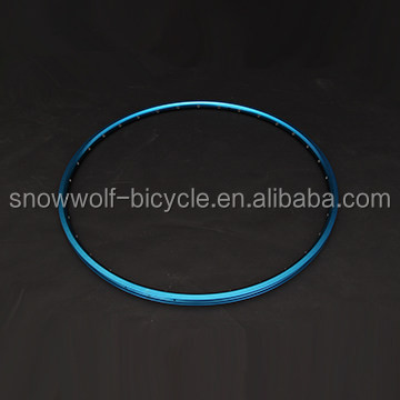 Anodized cheap bicycle rim 700c colorful