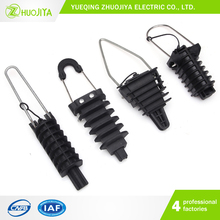 Zhuojiya Insulating High tension plastic dead end clamp/anchor clamp
