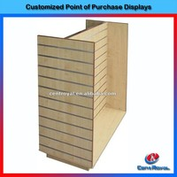 Customized design four-sided hair bow display stand