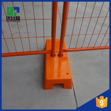 Steel Galvanized Barricades Pedestrian Barrier Temporary Fencing