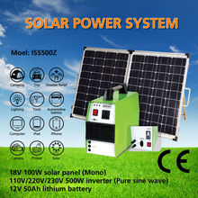 500W Solar Energy System for home use