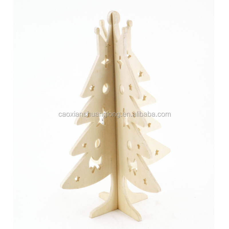 high quality trees for indoor christmas decorations, wooden christmas trees
