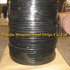 Tianjin Manufacturer black painted and waxed for packing steel strap