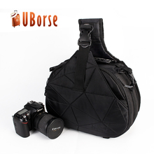 polyester outdoor messenger bag , men digital dslr camera shoulder bag , camera sling bag for travel