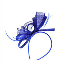 Fashion Feather Hair Band Colorful Hair Fascinators