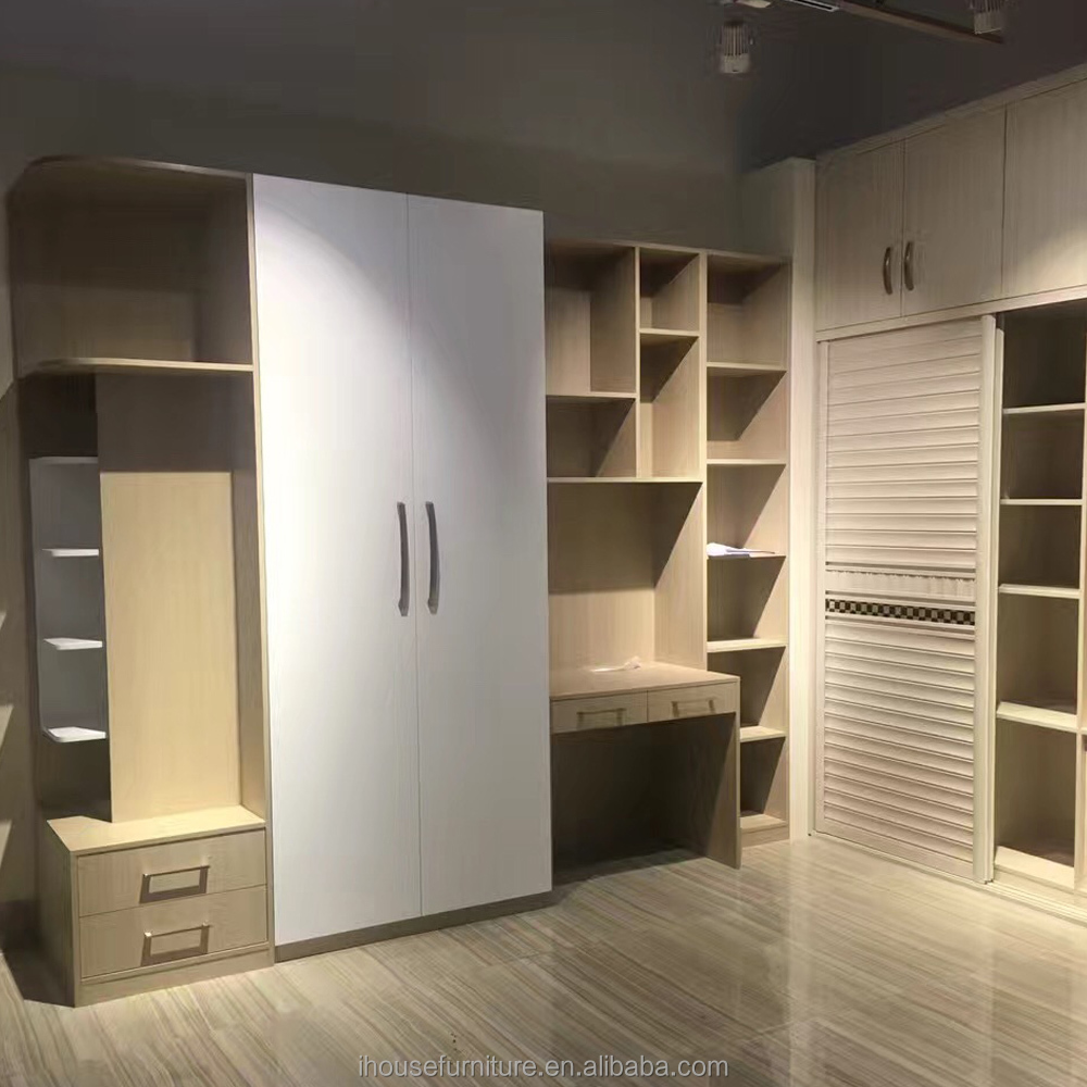 Guangdong Modern Diy Bedroom Open Sliding Wardrobe Almirah Designs/Bedroom Sliding Wardrobe Design/Diy Wardrobe