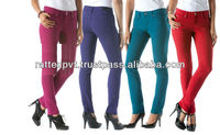 Upcoming 5 Color Fashionable Women Bootcuts Jeans 2013
