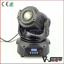 Innovative Product 60w Moving Head Spot 60 Watt Gobo Light Mini Led Spot With 3-facet Prism
