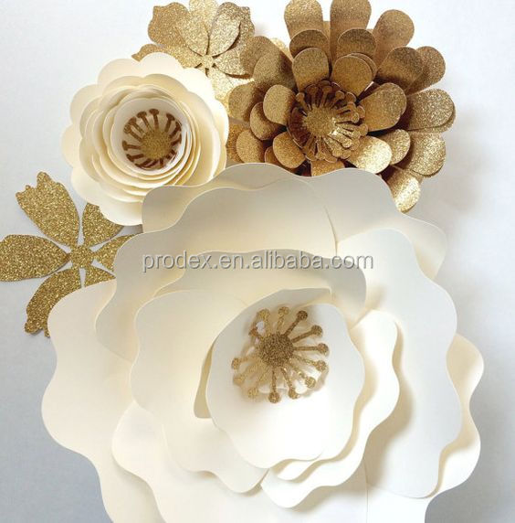 Handmake high quality Giant paper flowers