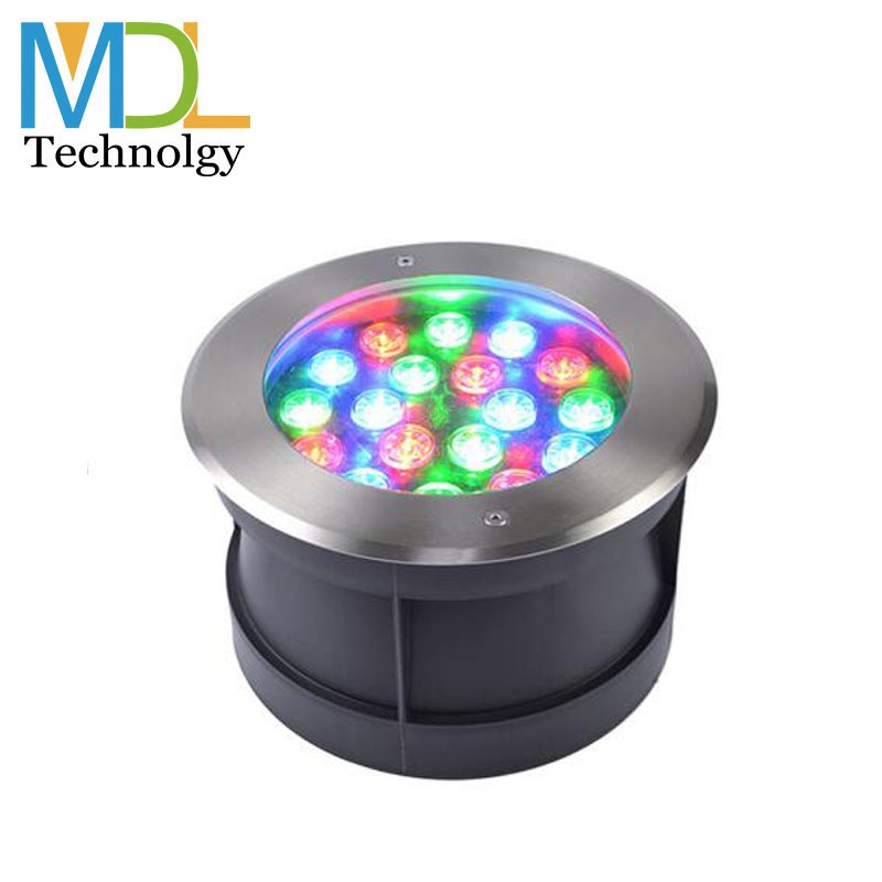 Weatherproof LED Ground Light Underground Floor Buried Light for Outdoor Landscape Garden