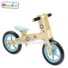 2017 Newest design colourful 3 in 1 balance wooden baby push bike