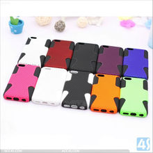 Shockproof Silicone Case with Net Hard Cover for iPhone 5C P-IPH5CHCSO010