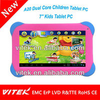 Hot 7 inch A20 Dual Core Children Tablet PC