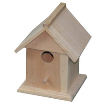 Antique Pet Cages, Carriers & Houses Type and Birds Application Wood Bird House