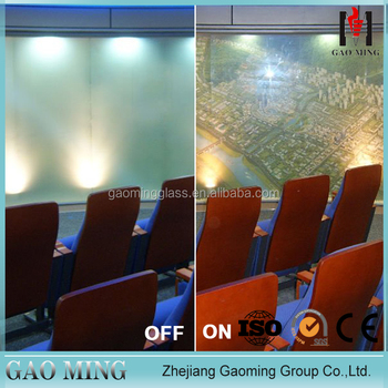 2015,alibaba trade assurance high-tech clear to frosted switchable smart glass panel DS-LP6535