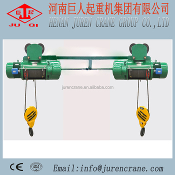 Double Hook Electric Wire Rope Hoist