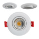 Adjustable COB recessed led downlight