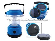 LED Plastic solar camping lantern with mobile phone charger