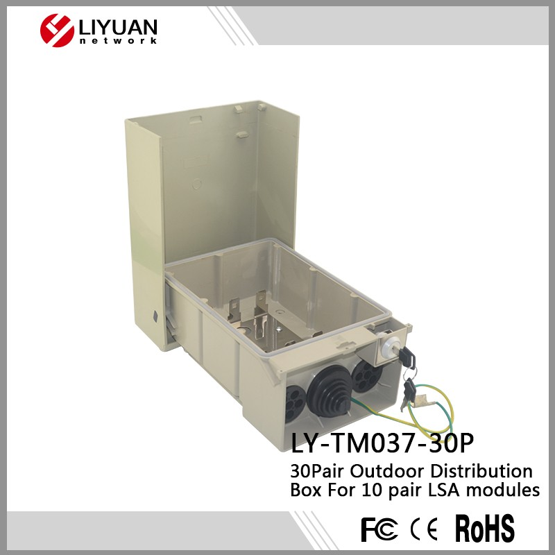 LY-TM037-30P 30 Pair LSA Telephone Distribution Module/distribution box 30 pairs