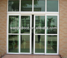 pvc safety door design with grill
