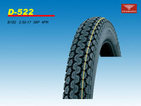2.50-17 38P 4PR D-522 FOR TYPE-CUBE MOTORCYCLE