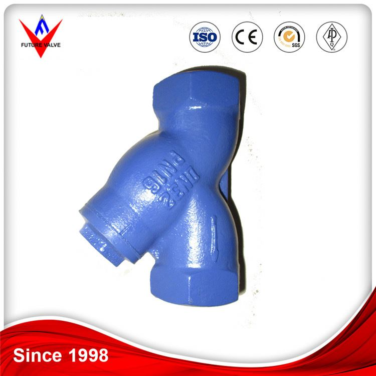 "DIN Ductile Cast Iron 3/8"" Thread y Type Strainer"