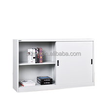 High quality cold rolled steel plate Material Metal Garage Cabinets Small Sliding Door Cabinet