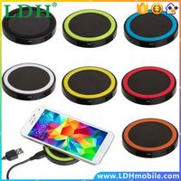 High Quality Wirless Qi Wireless Charger Power Pad For Samsung Galaxy S6 Note 5 For HTC X920e 8X Mobile Phone Chargers