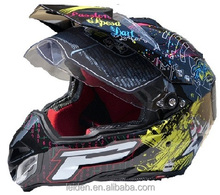 DOT helmet motocross dot full face motocross helmet Motocicleta casco