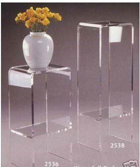 Acrylic Furniture Pedestal StandArt Sculpture Stand Buy