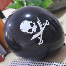 Pirate Skull Balloon For Halloween
