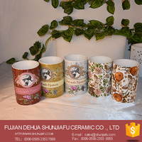 Fashion Ceramic Fragrance Oil Burner Essential Oil Container For Home Decoration