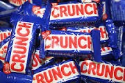 Available Crunch chocolate bars w/rice paff - Nestle