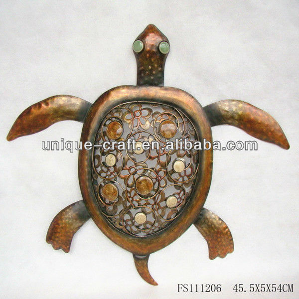 Turtle wall hanging craft for kids