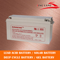 Factory supply directly rechargeable 12V 150ah deep cycle solar battery