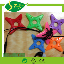 star shape plastic wire holder