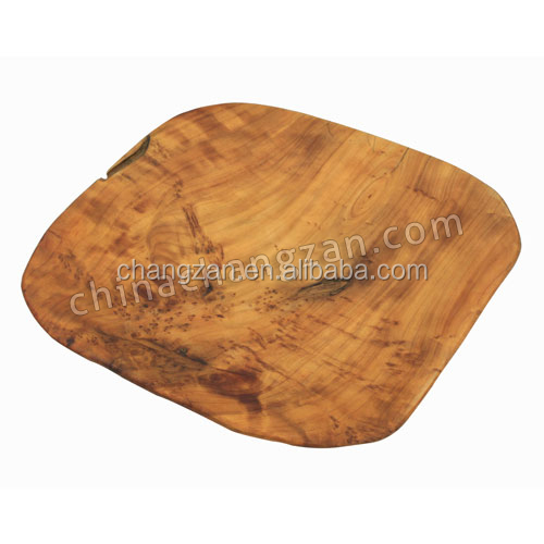 Pizza Cutting Board Handly Carved Wooden Root Carving Cutting Board